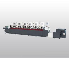 LZ-360 intermittent rotary label printing machine